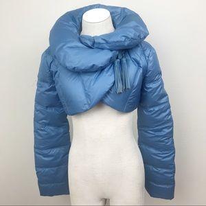Arden B Bolero puffer jacket